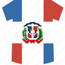 dominican, republic, shirt icon
