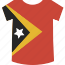 east, shirt, timor icon