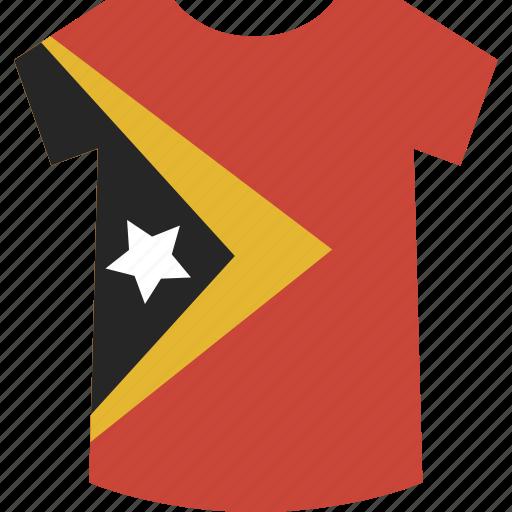 east, shirt, timor icon