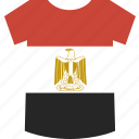 egypt, shirt icon