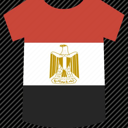 egypt, shirt icon