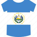 el, salvador, shirt icon