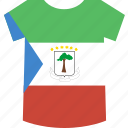 equatorial, guinea, shirt icon