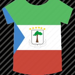 equatorial, guinea, shirt icon