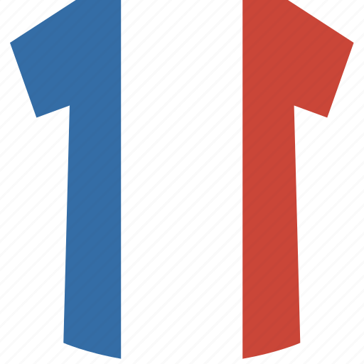 france, shirt icon