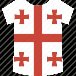 georgia, shirt icon