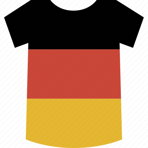 germany, shirt icon