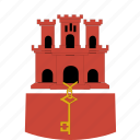 gibraltar, shirt icon