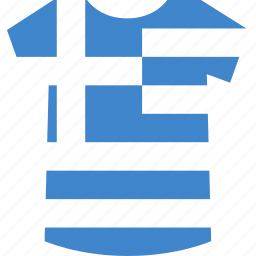 greece, shirt icon