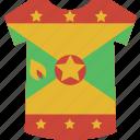 grenada, shirt icon