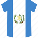 guatemala, shirt icon