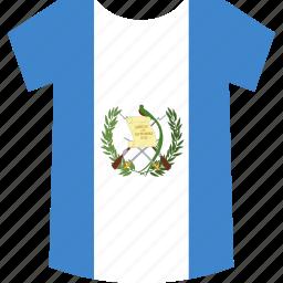 guatemala, shirt icon
