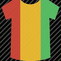 guinea, shirt icon