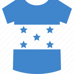 honduras, shirt icon