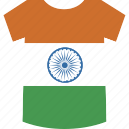 india, shirt icon