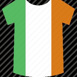 ireland, shirt icon