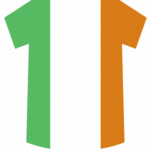 ireland, shirt icon