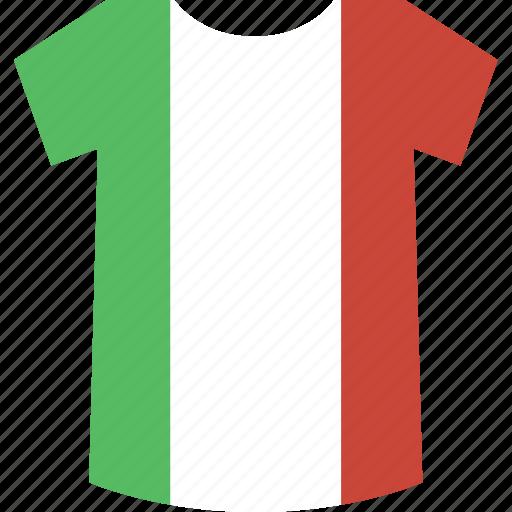 italy, shirt icon