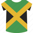 jamaica, shirt icon
