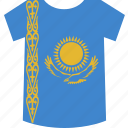 kazakhstan, shirt icon