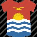 kiribati, shirt icon