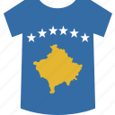 kosovo, shirt icon