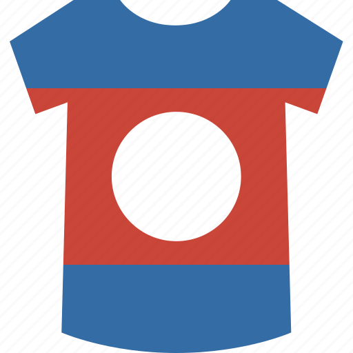 laos, shirt icon