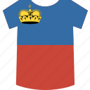 liechtenstein, shirt icon