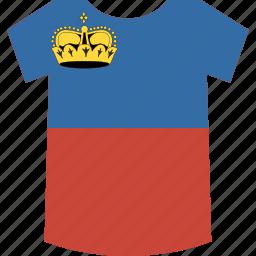 liechtenstein, shirt icon