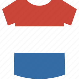 luxembourg, shirt icon