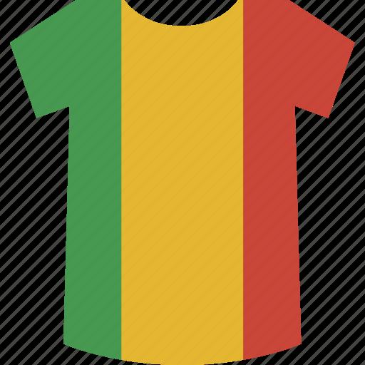 mali, shirt icon