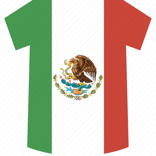 mexico, shirt icon