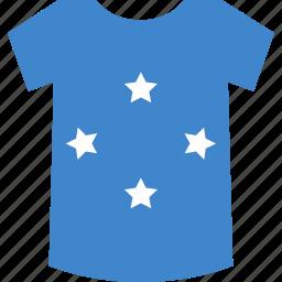 micronesia, shirt icon