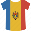 moldova, shirt icon