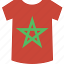 morocco, shirt icon