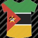 mozambique, shirt