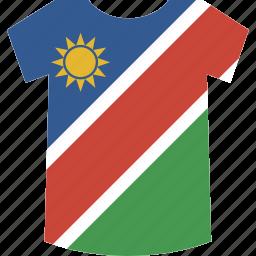 namibia, shirt icon