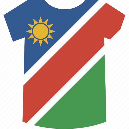 namibia, shirt icon