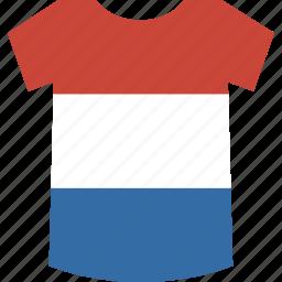 netherlands, shirt icon