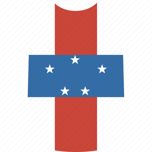antilles, netherlands, shirt icon