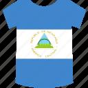 nicaragua, shirt icon