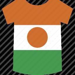 niger, shirt icon
