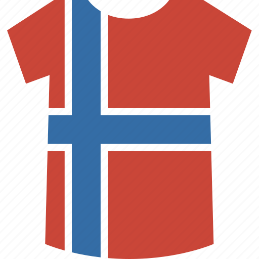 norway, shirt icon