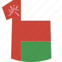 oman, shirt icon