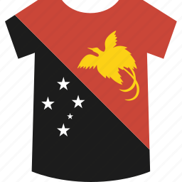 guinea, new, papua, shirt icon