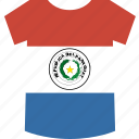 paraguay, shirt icon