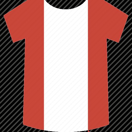 peru, shirt icon