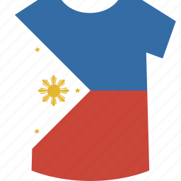 philippines, shirt icon