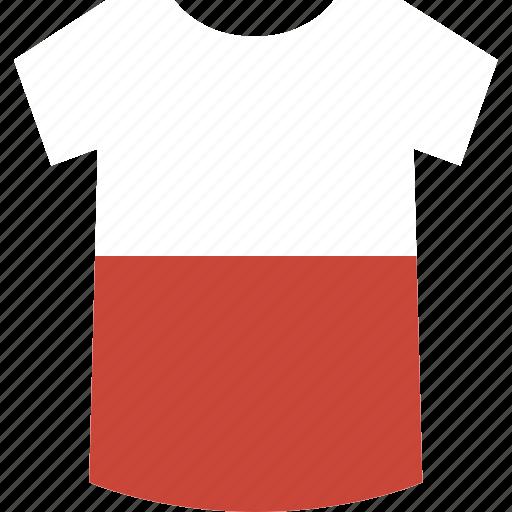 poland, shirt icon