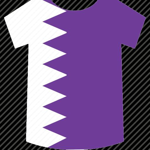 qatar, shirt icon